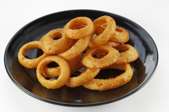 Timbers Fast Food & Deli : Onion rings