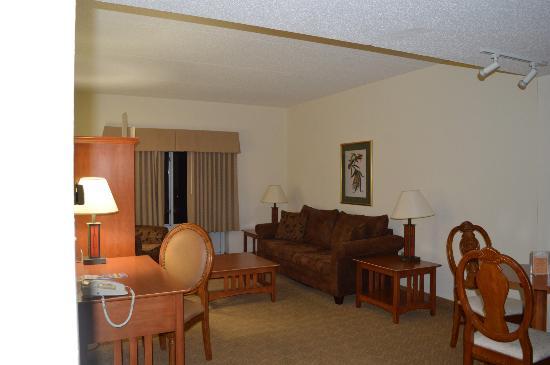 Clemson University's James F. Martin Inn: Suite