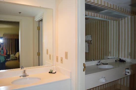 Clemson University's James F. Martin Inn: Bathroom