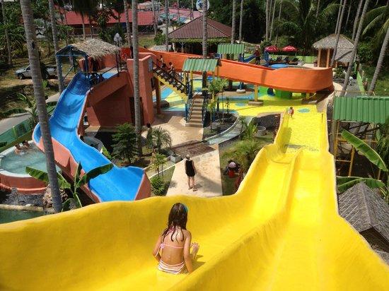 Coco Splash Adventure and Water Park: COCO SPLASH Niagara Slider
