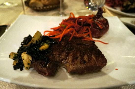 Noyan Tun : Argentinian Rib eye steak