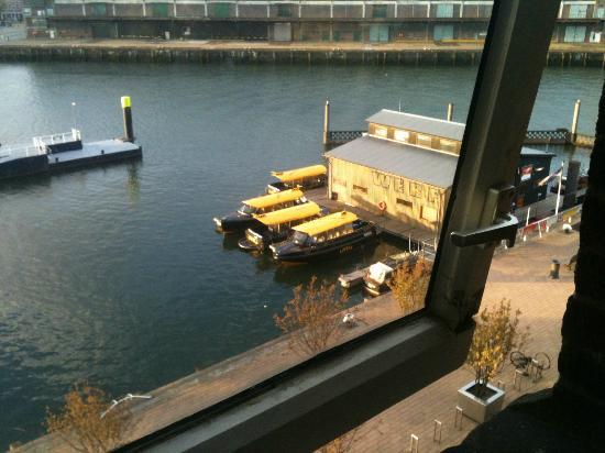 Hotel New York: Vue sur le fleuve