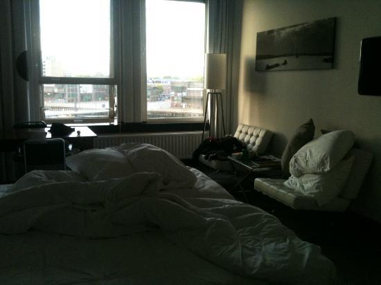 Hotel New York: Chambre avec vue sur le fleuve