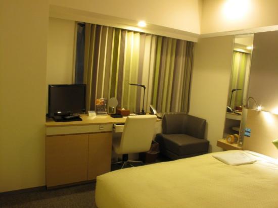 Nishitetsu Inn Nagoyanishiki : 清潔な室内