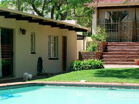 Bongela Bed and Breakfast: A view from our back yard