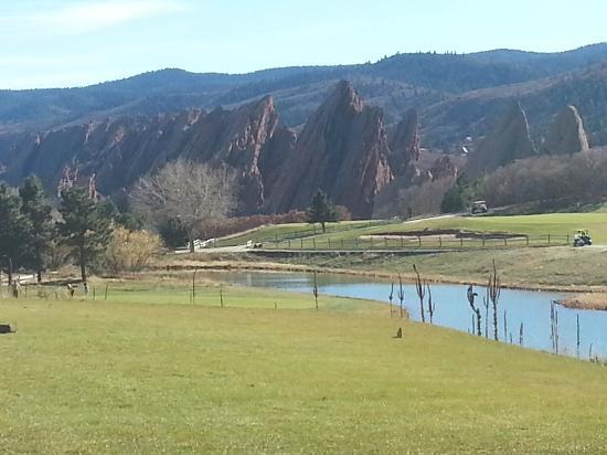Arrowhead Golf Club: Awesome Geology!