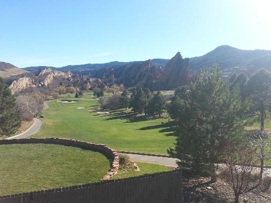 Arrowhead Golf Club: View from #10 and clubhouse