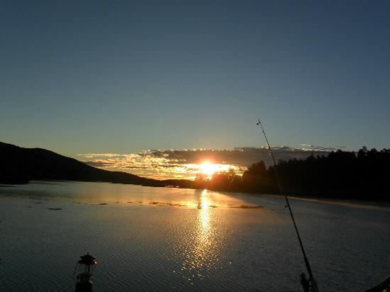 Sunrise Picture Of Big Bear Lake Big Bear Region