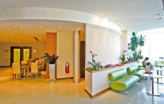 Hotel Maregolf : Hall e vista sul bar