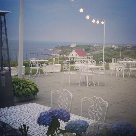Spring House Hotel: Dinner on the patio