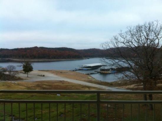 "Still Waters Resort: Looking out over Table Rock Lake from room 247 in ""K"" building."