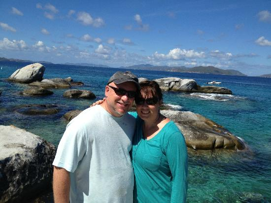 Gallows Point Resort: Dave and Carol at St. John