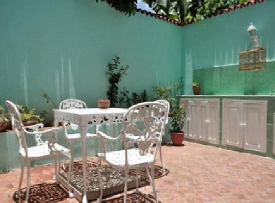 Hostal Casa di  Elio Ramos: patio