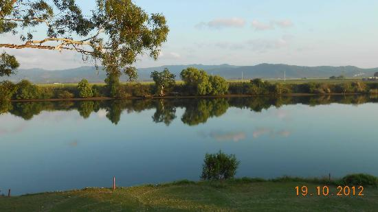 Tweed River Motel: view from window