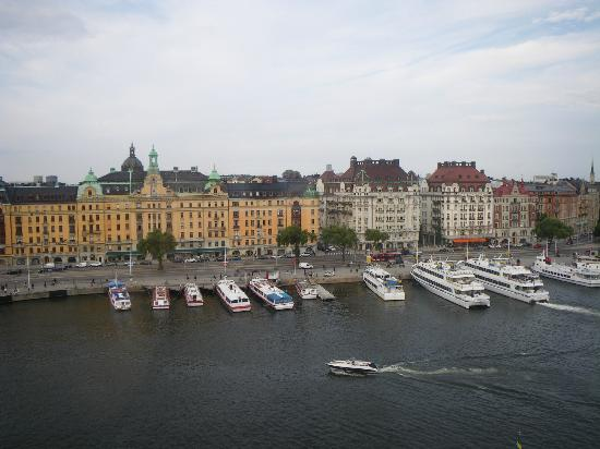 Radisson Blu Strand Hotel, Stockholm: view from our room