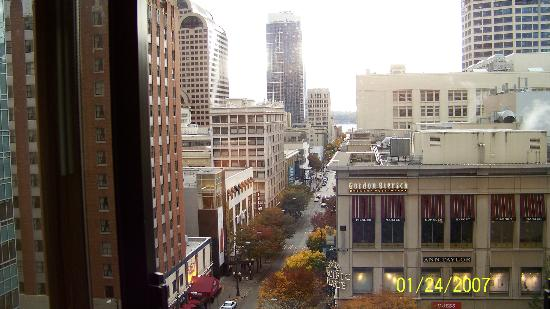 The Paramount Hotel: View from room