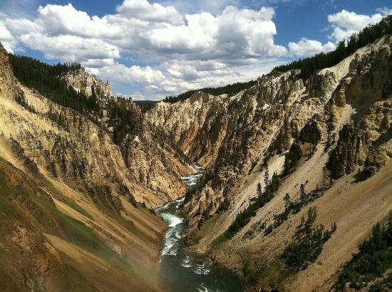 Grand Canyon of the Yellowstone: Canyon