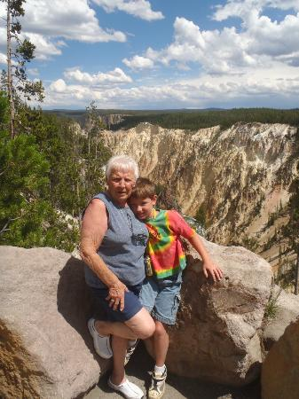 Gran Canyon di Yellowstone: Canyon