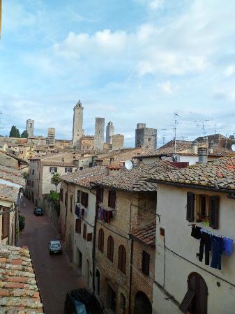 Palazzo al Torrione 2: Vista desde el comedor del Desayuno