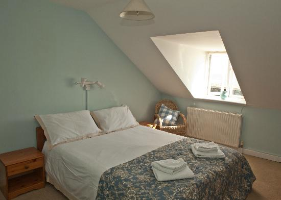 Acqua Beach Weymouth: Our lovely loft room with sea view