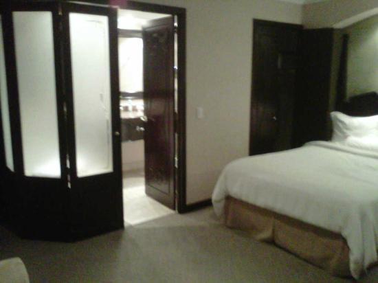 Crowne Plaza Hotel de Mexico: EL BAÑO CON LA TINA (QUE YA NO SUPE SI ES DE HIDROMASAJE O ES UN JACUZZI)