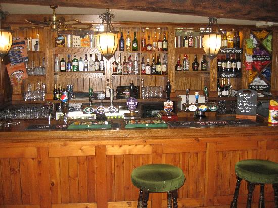 The White Horse Inn @ Pulverbatch: Bar