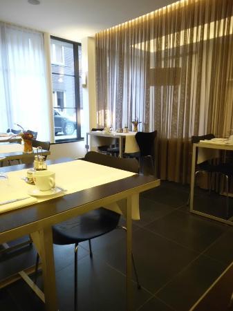 Hotel Verlooy: Ontbijtruimte