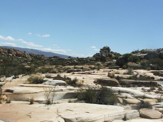 Kagga Kamma Nature Reserve: Rugged terrain