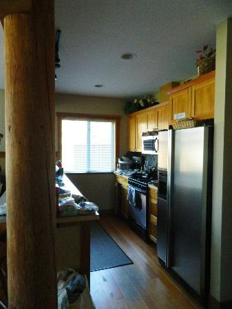South Chesterman Beach Condos: large kitchen with everything you need