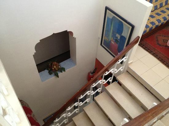 La Petite Suede: Escalier
