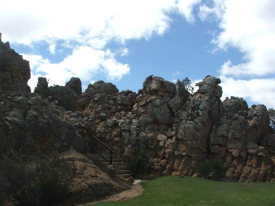 Kagga Kamma Nature Reserve: Staircase to the Observatory 