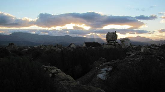 Kagga Kamma Nature Reserve: Awesome sunset