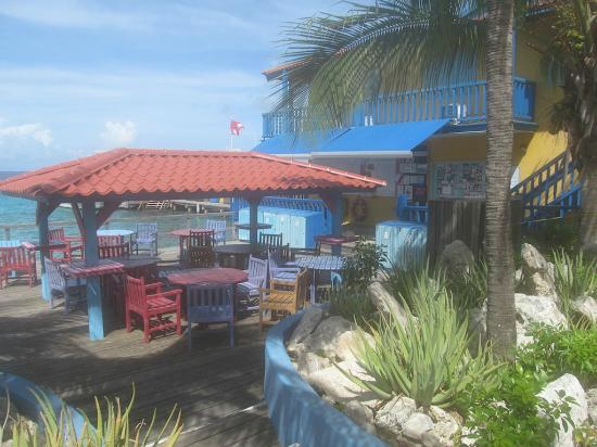 Divi Flamingo Beach Resort and Casino: Dive deck