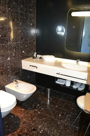 Hotel San Ranieri: The Bathroom