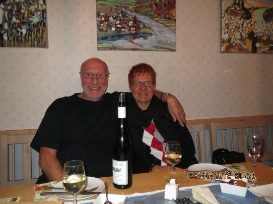 Weingut & Gastehaus Stephan Kohl: Vingårdens opholds-/spisestue