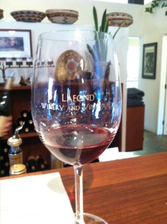 Grapeline Wine Tours Santa Barbara: Lafond glass