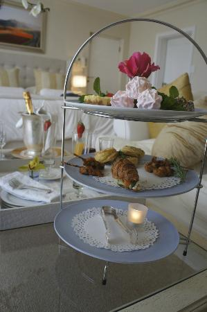 Atlantique Villa Camps Bay: Welcome Tea Platter