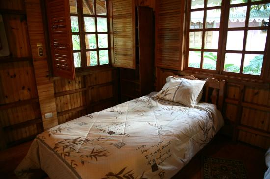 Ciudad Perdida Eco Lodge : Bedroom (second bed)
