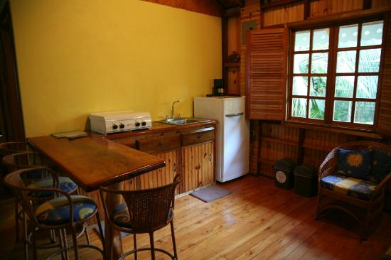 Ciudad Perdida Eco Lodge : Kitchen of our cabin