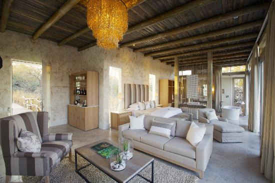 Kapama Private Game Reserve, Sudafrica: Suite