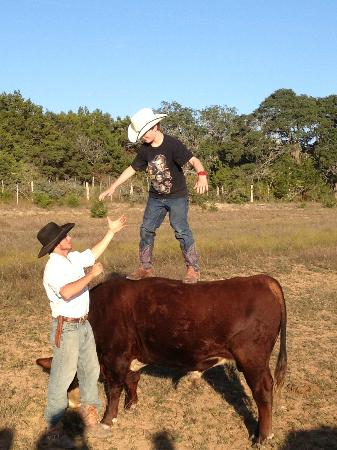 Rancho Cortez: Getting to sit on a bull