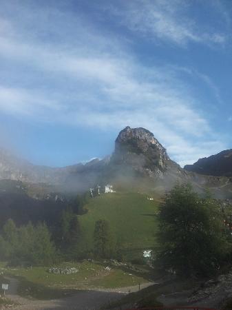 Rofan Hutte: Aussicht Richtung Berg