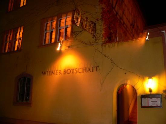 Wiener Botschaft: Außen-Ansicht