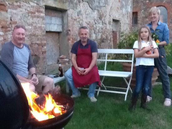 Siena House: Our Aussie BBQ - Tuscan style!