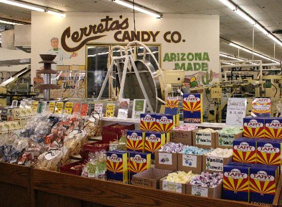 เกลนเดล, อาริโซน่า: Cerreta Candy Company
