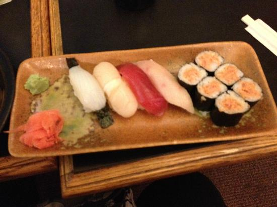 Old Powerhouse Restaurant: Mixed sushi