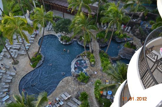 Hilton Hawaiian Village Waikiki Beach Resort Paradise Pool View From Our Room