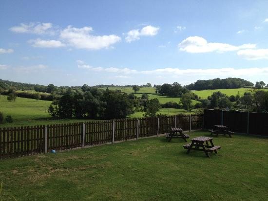 The Crown and Sceptre Inn: Our 'Room with a View'