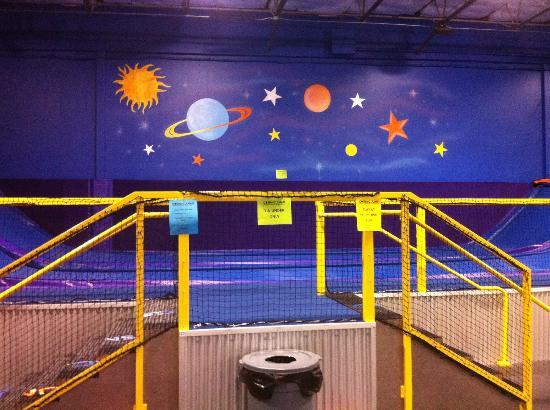 Cosmic Jump Trampoline Entertainment Center