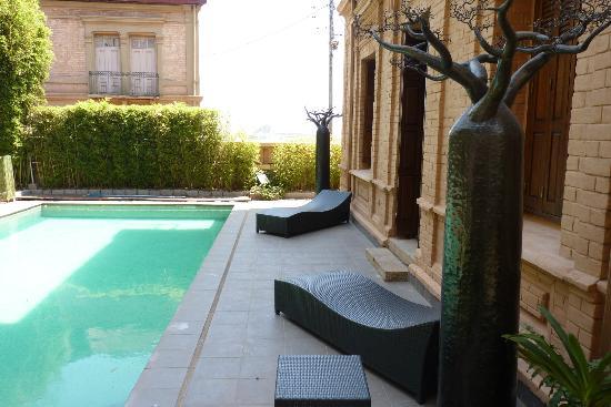 La Maison Gallieni : piscine de la Maison